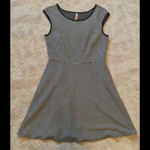 Bailey 44 Black and White Dress